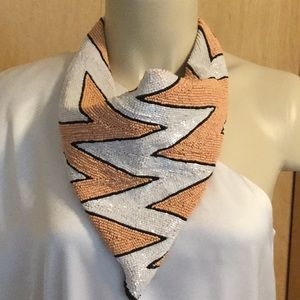 Accessories - Beaded scarf necklace